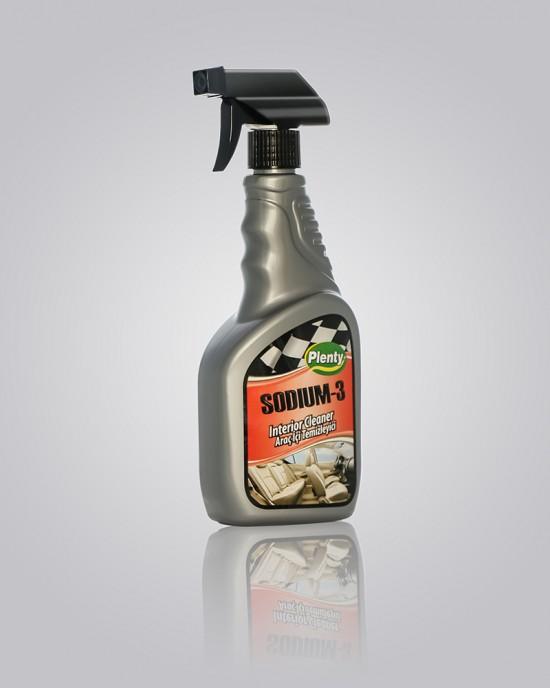500 mL Sodium-3 Araç İçi Temizleyici